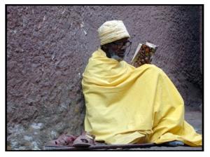 un monaco a lalibela